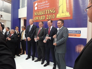 Preisverleihung Immobilien Marketing Award 2010