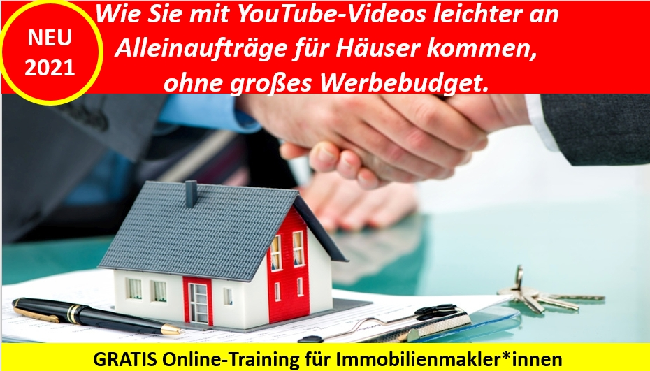 YouTube-Marketing für Immobilinemakler